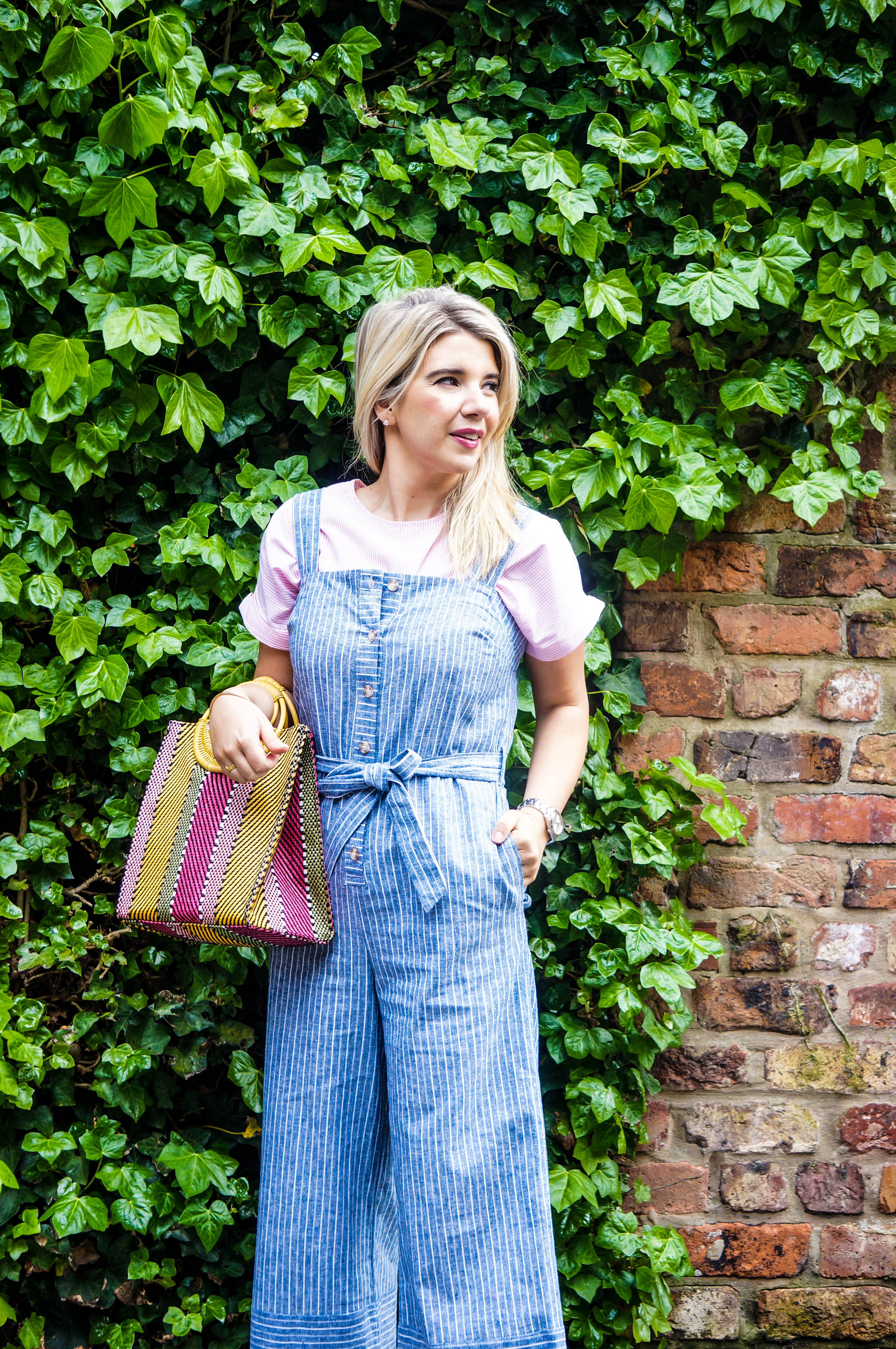 Warehouse Linen Jumpsuit, ASOS Accessories, Outfit Blog Post